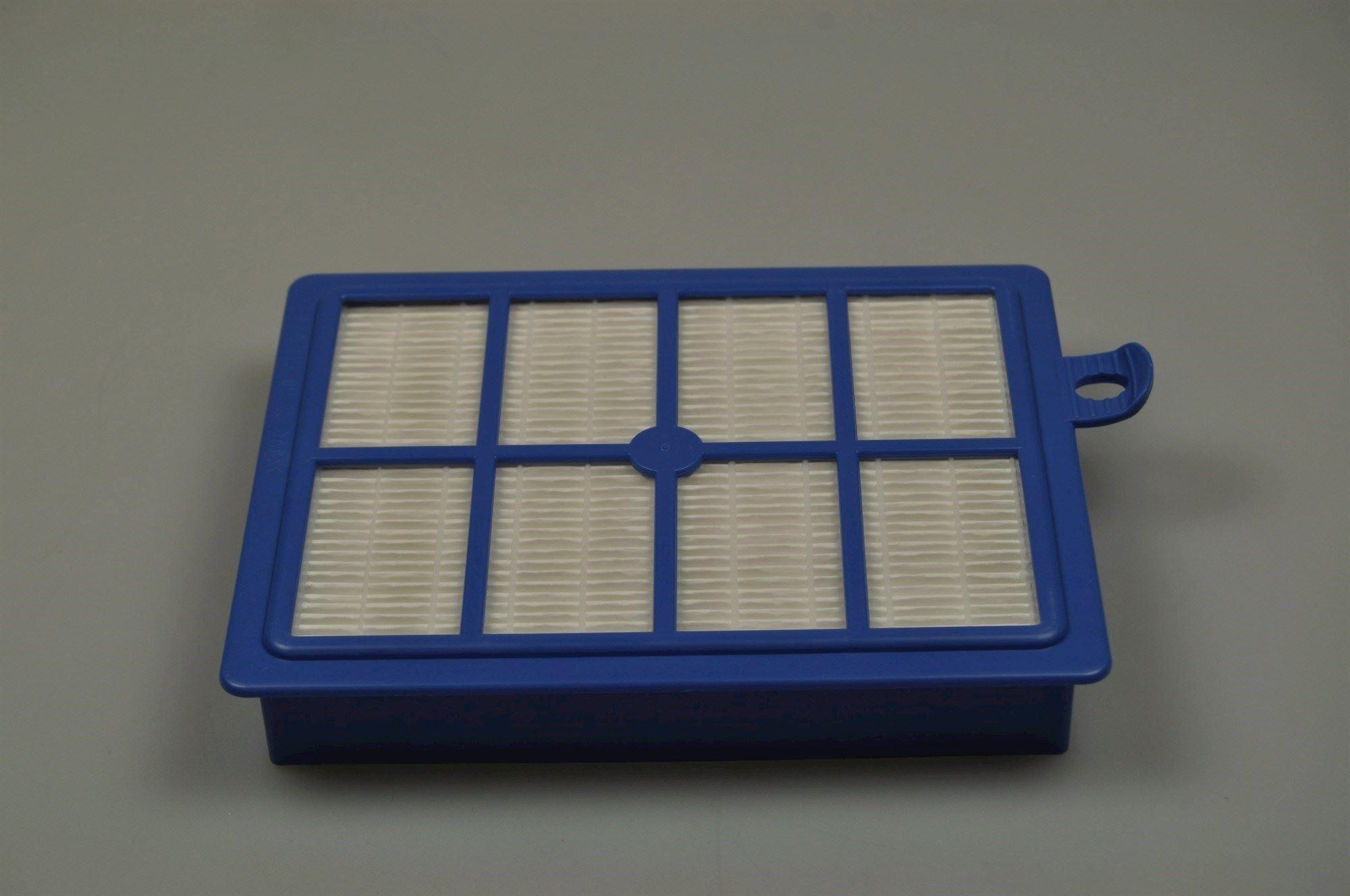 HEPA filter, Philips støvsuger